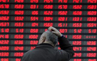 asx plunge trade war