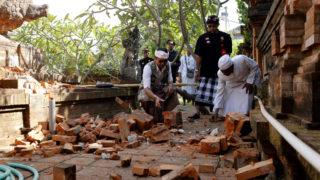 earthquake bali