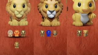 Lion King Ooshies