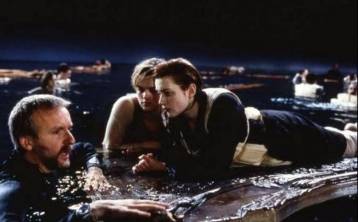 James Cameron Leonardo DiCaprio Kate WInslet Titanic