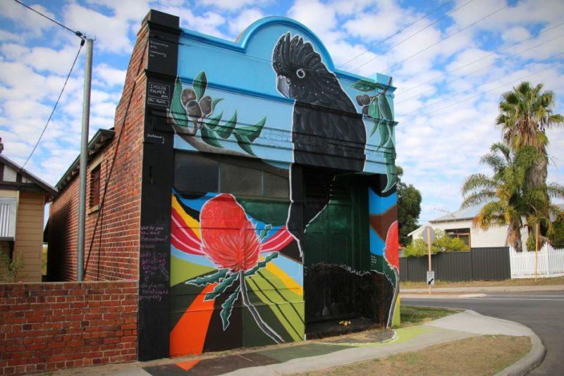 Bassendean deli community art mural