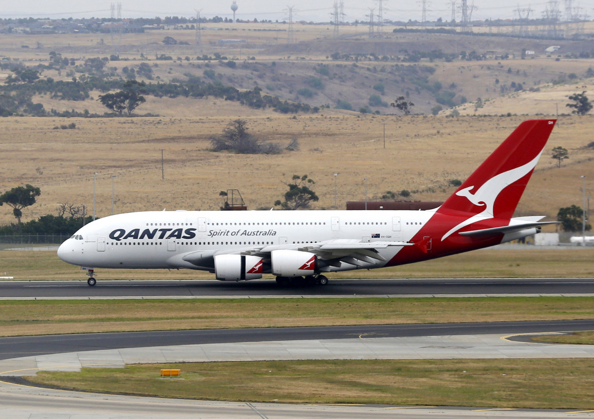 Qantas is still selling Emirates flights to the middle-eastern country on its website. Photo: AAP