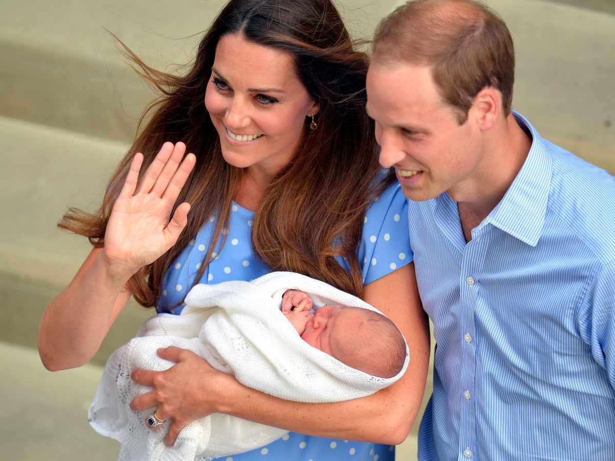Duke of Cambridge Duchess of Cambridge Prince George