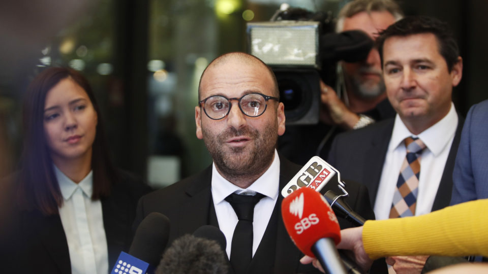 george calombaris dumped ads