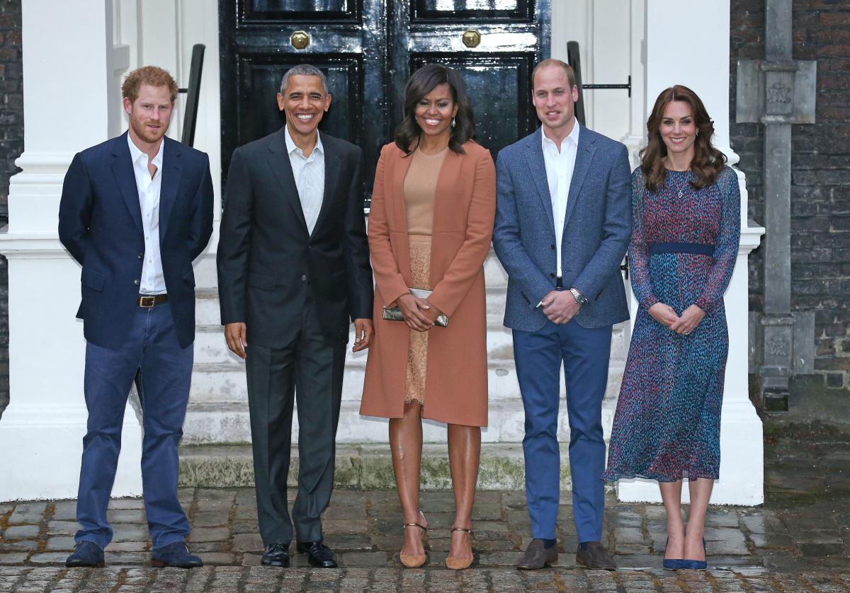 Obamas British royals 2016