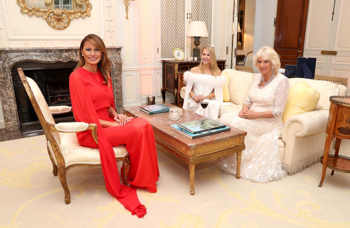 Melania Trump Suzanne Urcha Camilla