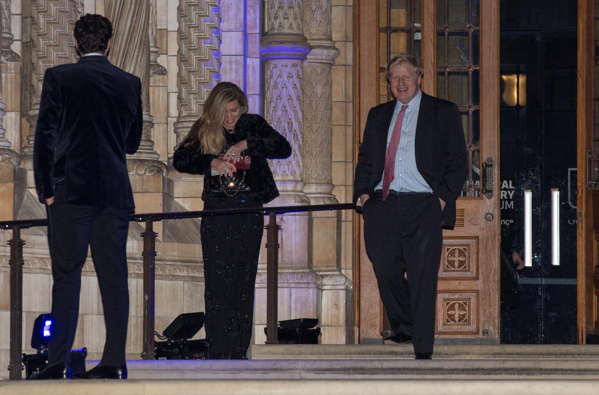 Carrie Symonds Boris Johnson 2018