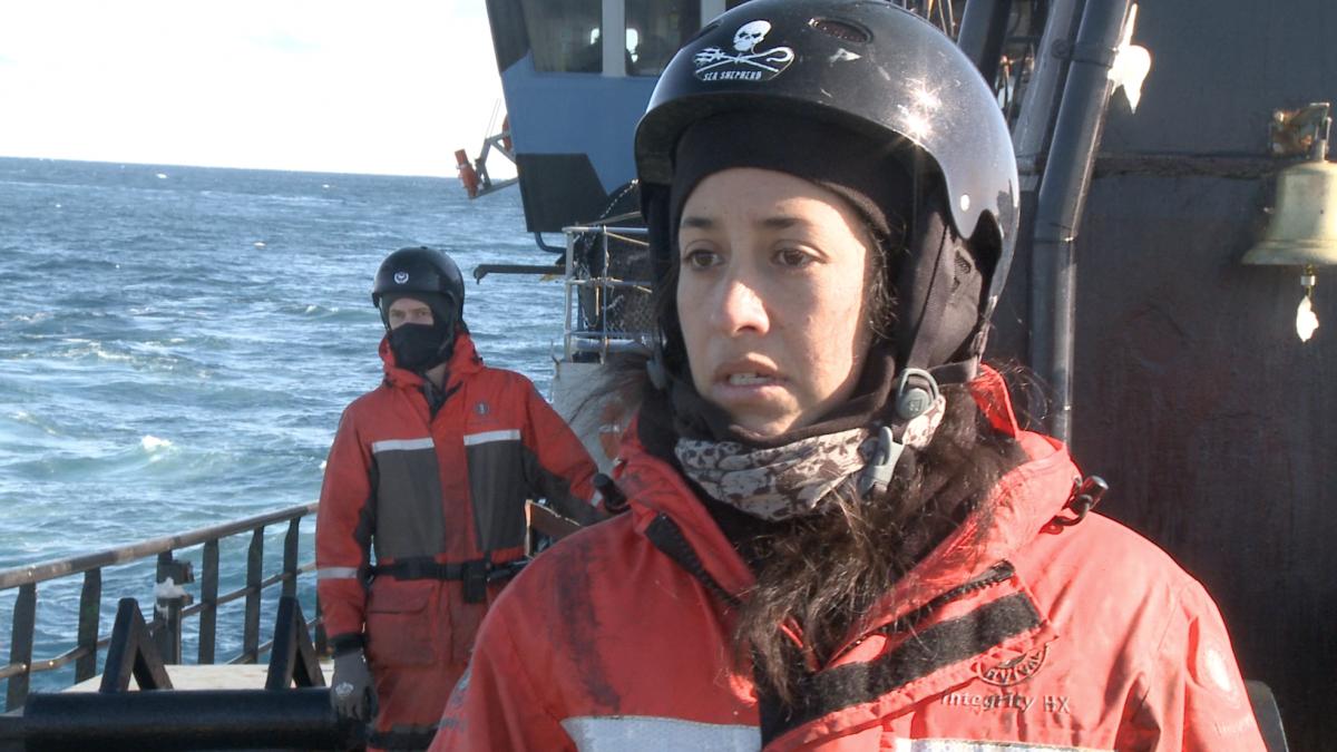 Sea Shepherd crew members