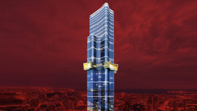 Defects have been found in the 319 metre-tall Australia 108 building.
