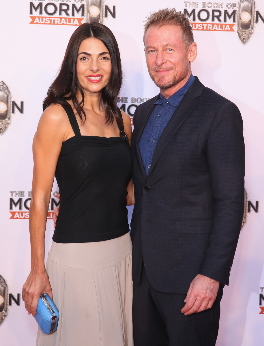 Silvia Colloca Richard Roxburgh