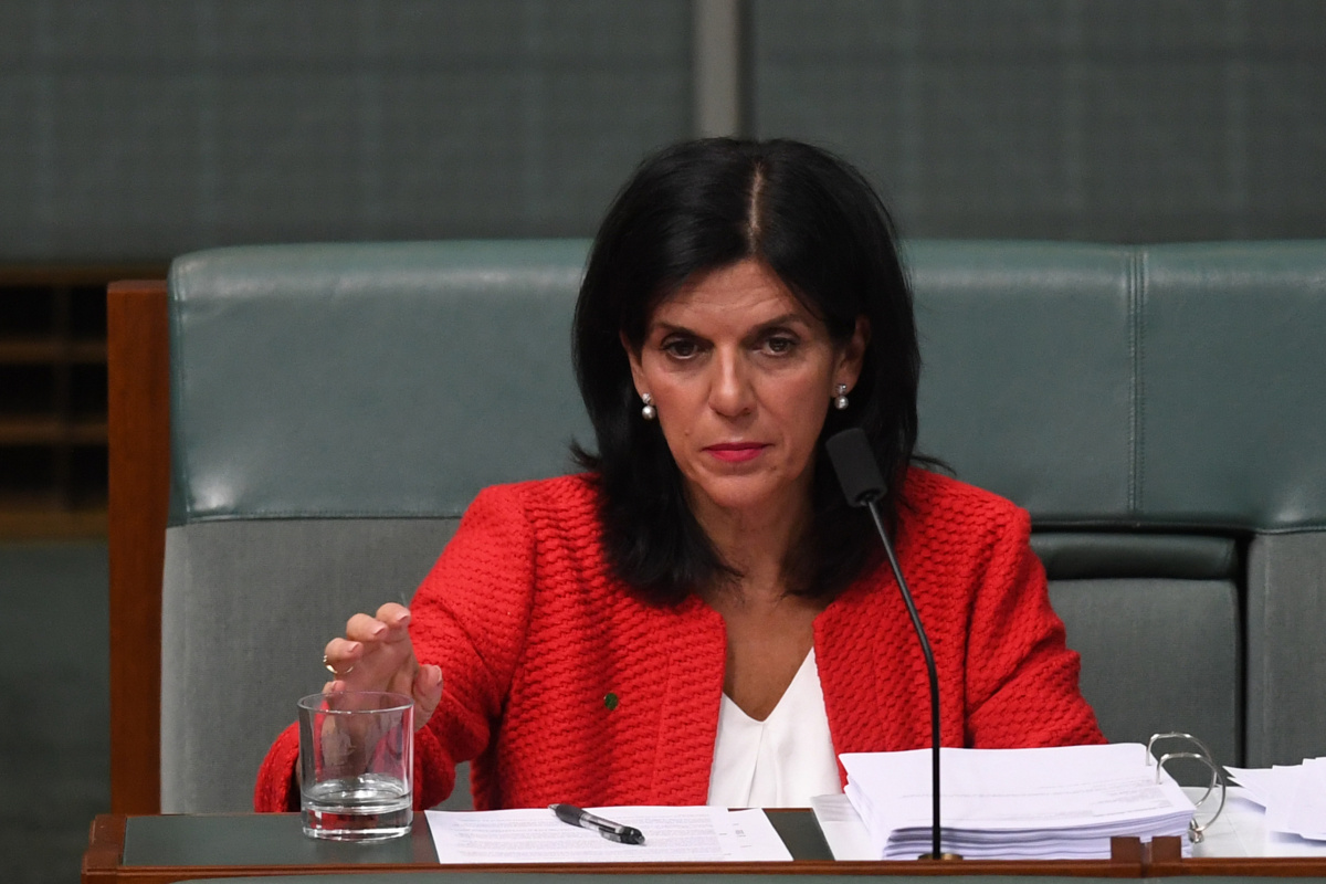 Then Liberal MP Julia Banks claimed she could live off the payment. Photo: AAP