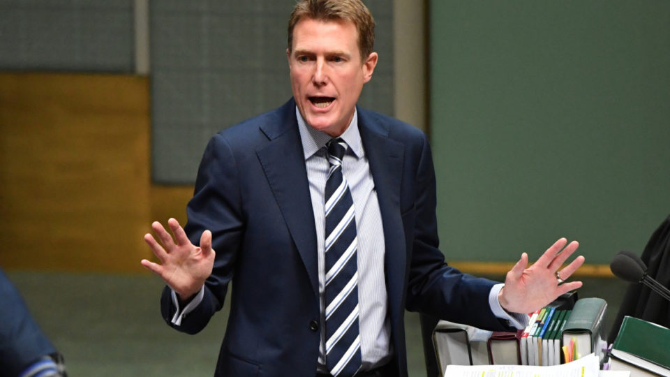Christian Porter has said raising the amount doesn't help people find jobs.