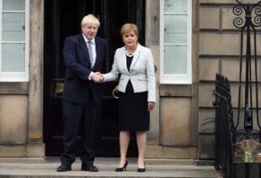 boris johnson boo scotland