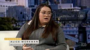 Journalist Alice Workman now works for The Australian.