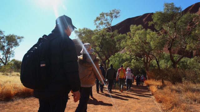For years, tourists have been asked not to climb Uluru for cultural and safety reasons.