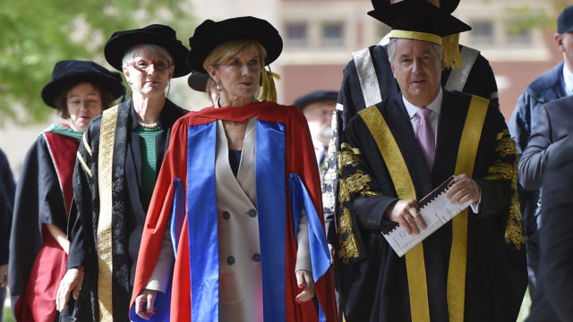 Julie Bishop to become ANU's first woman chancellor