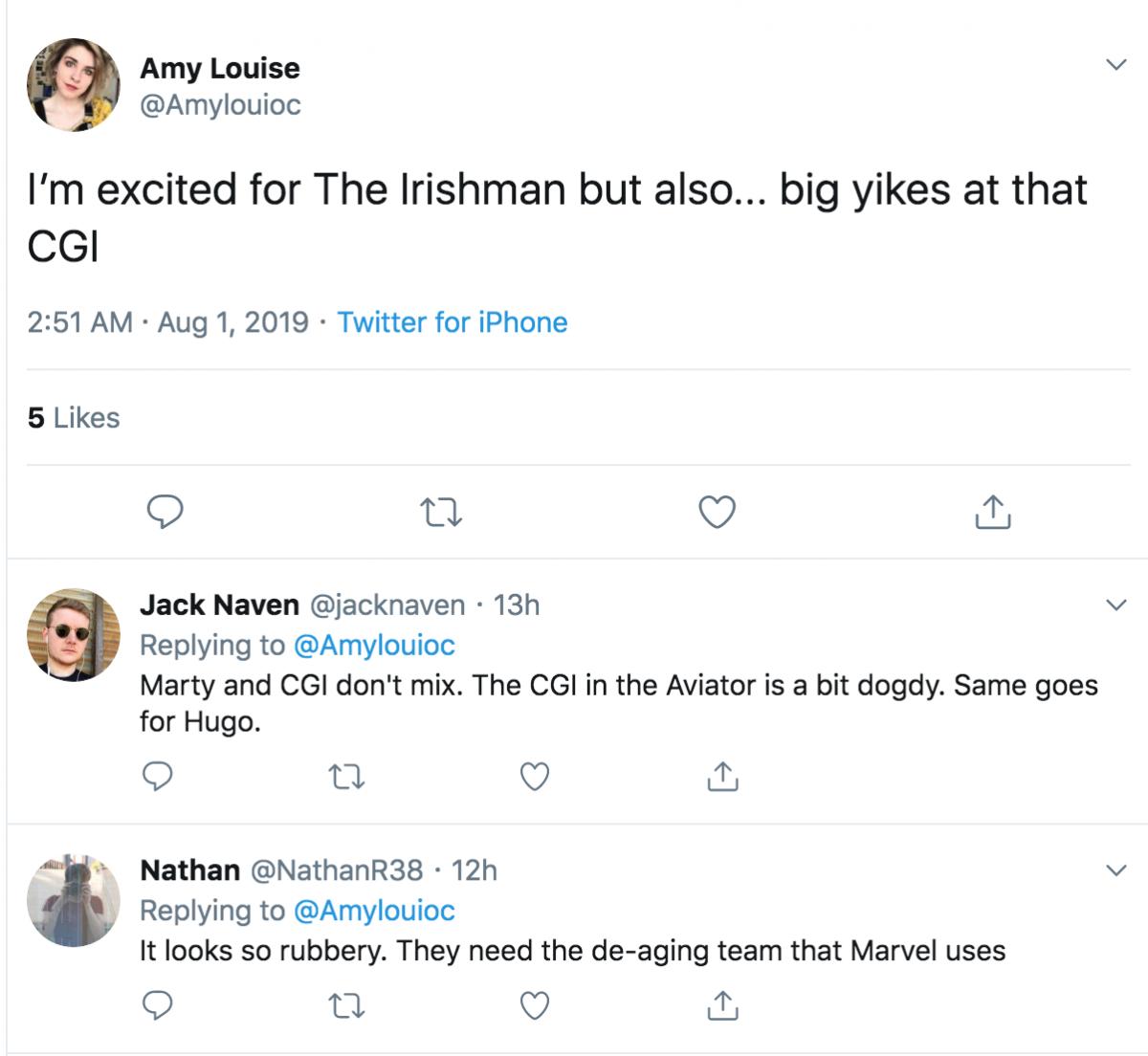 The Irishman Twitter