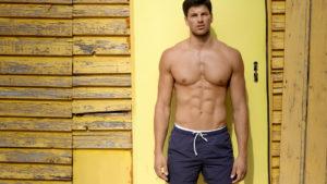 Man in shorts
