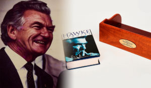 bob hawke memorabilia auction