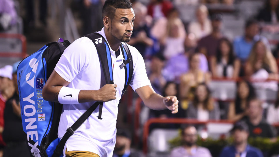 Kyrgios towelled up at Canadian Open