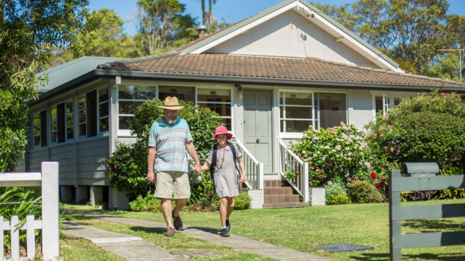 older Australians' living preferences