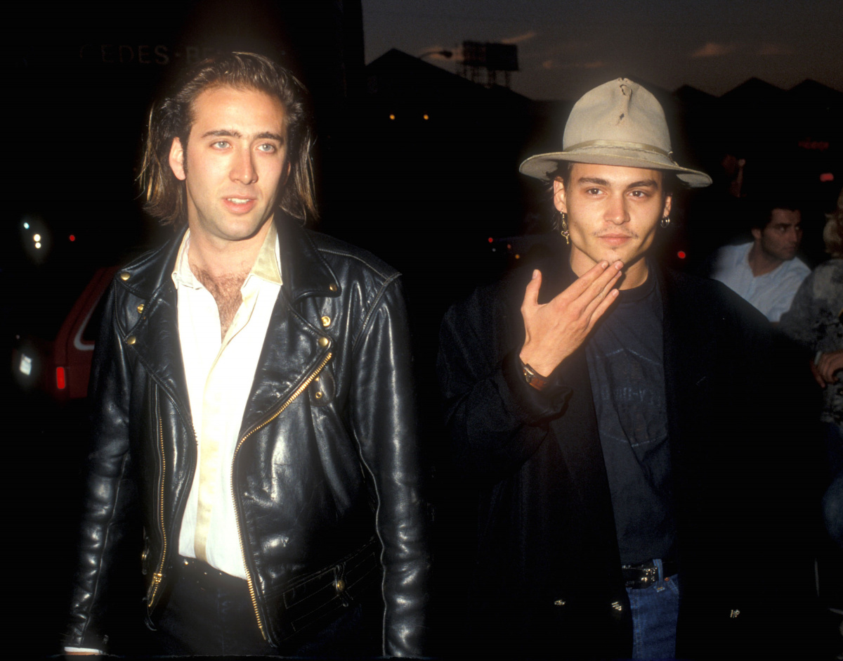 Nicholas Cage Johnny Depp