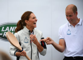 Kate Middleton Prince William Cowes