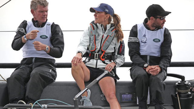 Kate Middleton's yachting day shows she knows some royal ropes better than Meghan