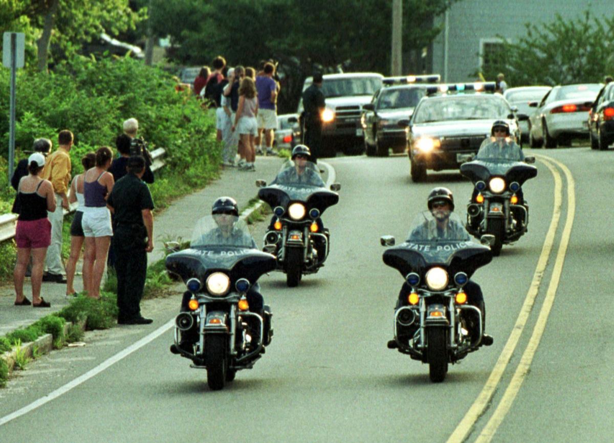 John F Kennedy Jr motorcade