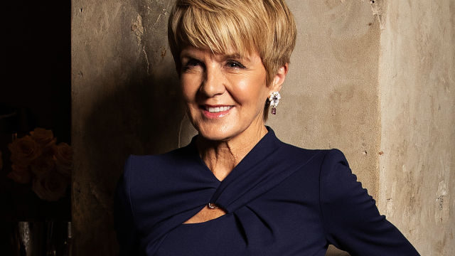 Julie Bishop slams 'toxic' misogyny, calls for more women in politics