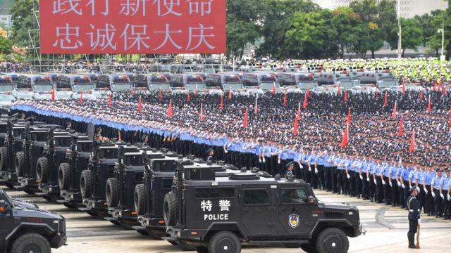 China warns Hong Kong protesters