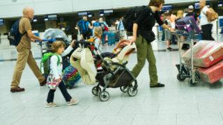baby baggage allowance plane