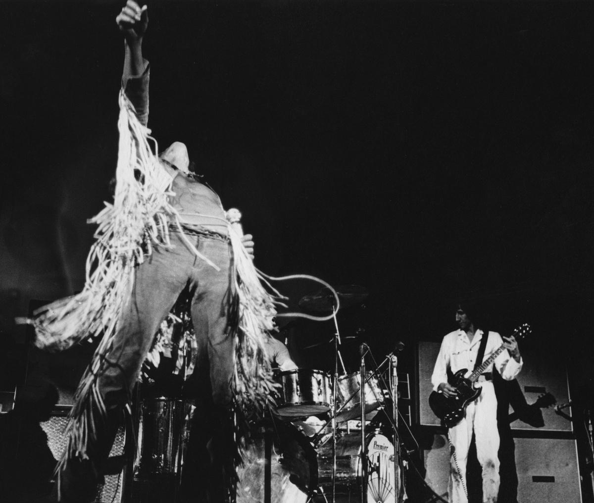 Roger Daltrey Pete Townshend Woodstock