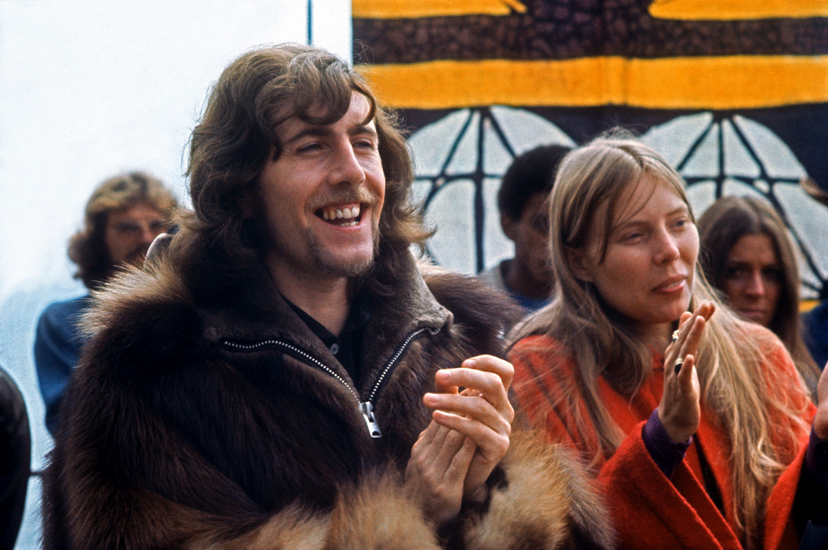 Graham Nash Joni Mitchell 1969