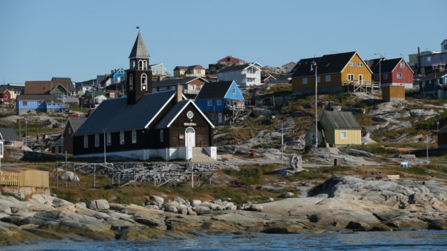 US President Donald Trump has flagged the idea of buying Greenland