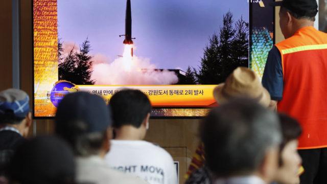 North Korea projectiles send message to south