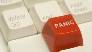 A panic button.