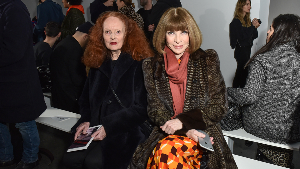 Grace Coddington Anna Wintour