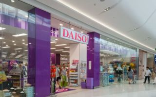 A Daiso storefront.