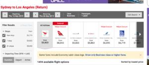 qantas expensive