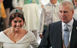 Princess Eugenie Prince Andrew