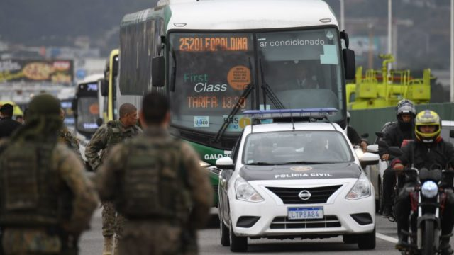 Sniper ends dramatic stand-off with bus hijacker, 37 hostages
