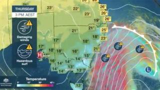 wind weather australia