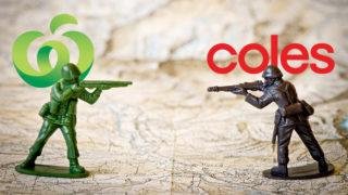 Coles and Woolworths branded soldiers