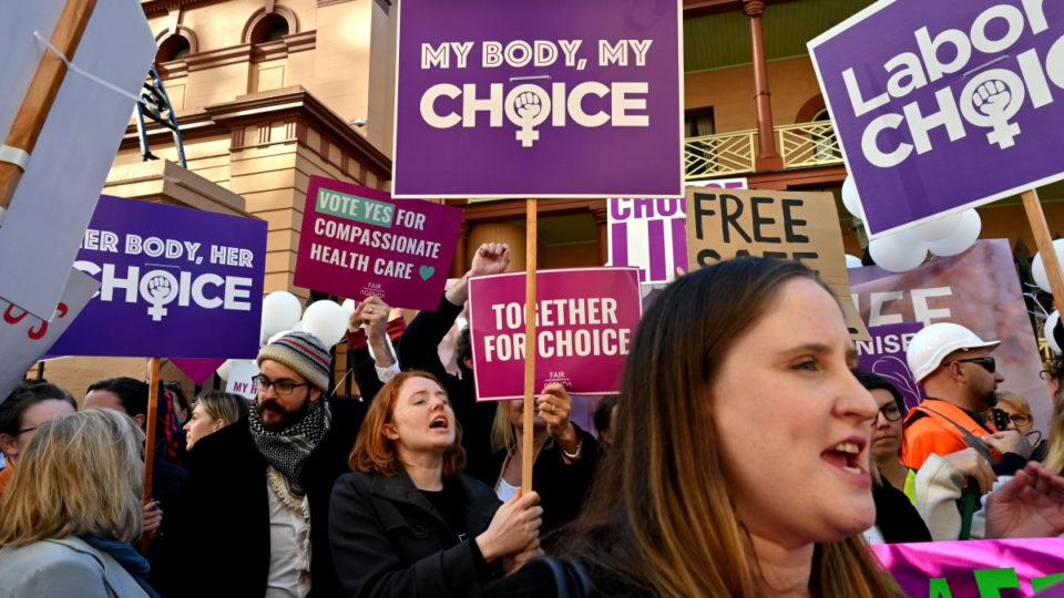 Abortion debate NSW