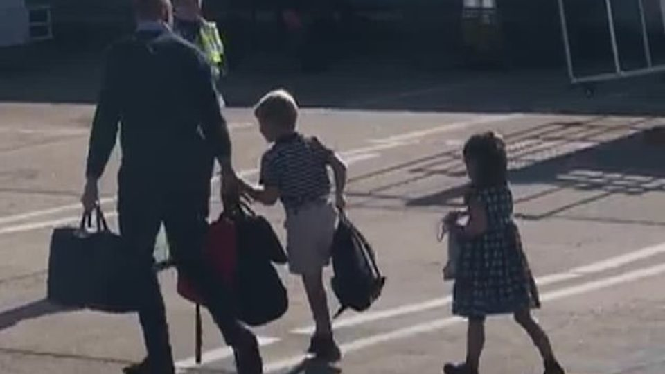 Prince William children airport