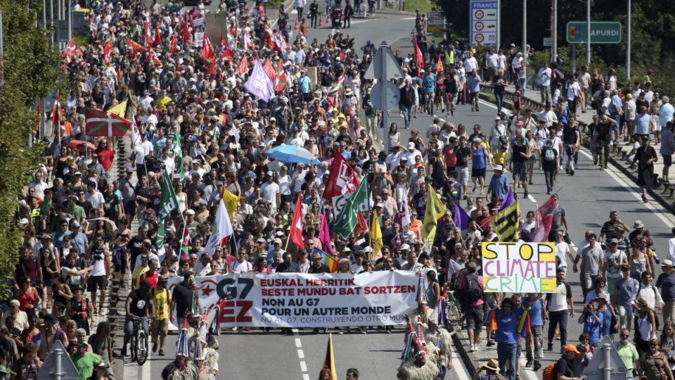G7 protest