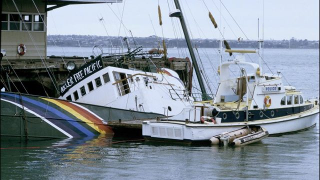 August 26, 1985: France denies knowledge of Rainbow Warrior attack