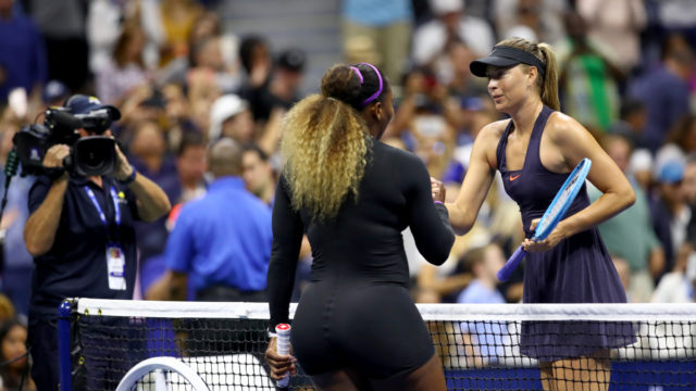 Williams trounces Sharapova as De Minaur dreams big at US Open