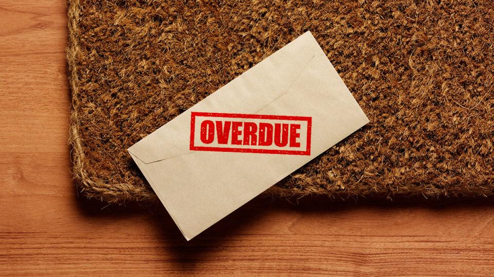 Overdue bill.
